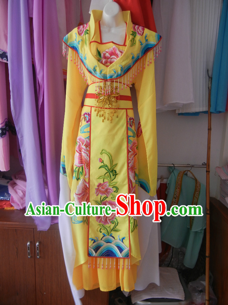 Long Sleeves Embroidered Opera Dance Costumes for Women