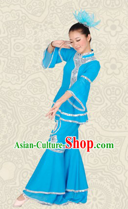 Classical Fan Dance Costumes for Women
