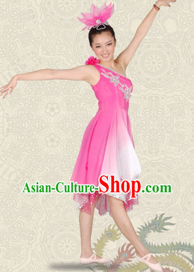 Han Minority Stage Performance Dance Outfit for Women