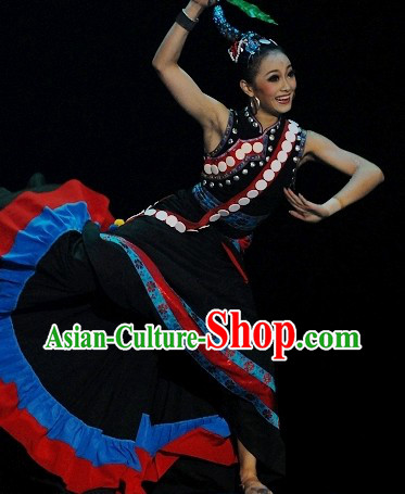 Traditional Chinese Yi Costumes for Women