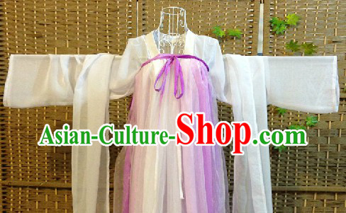 Ancient Chinese Tang Dynasty Clothes for Girls