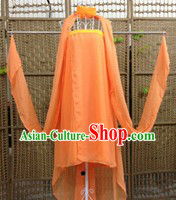 Orange Ancient Chinese Tang Dynasty Costumes