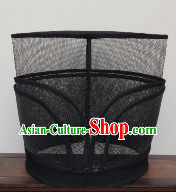 Ancient Chinese Black Guard Hat for Men