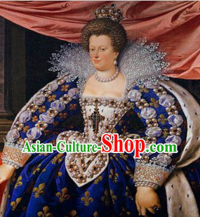 European Royal Court Noblewoman Clothes for Women