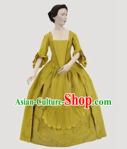 Traditional European Royal Court Palace Noblewoman Clothing