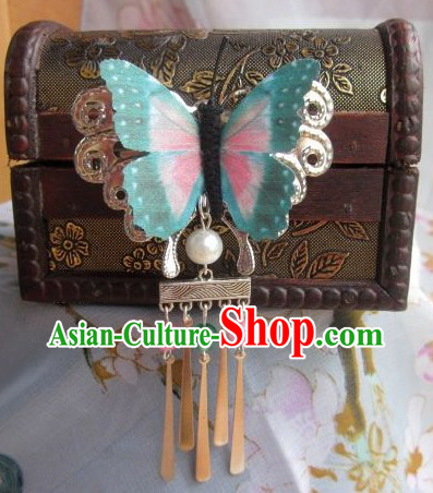 Traditional Chinese Hanfu Butterfly Hairpins