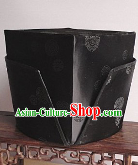Ancient Chinese Su Dongpo Official Hat for Men