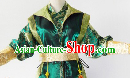 Ancient Chinese Ming Dynasty Paladin Costumes Complete Set for Men