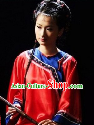 Minguo Chinese Taiwan Xiao Feng Xian Costumes Complete Set for Women
