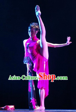 Chinese Yang Zhi Kou Classical Dance Costumes for Women