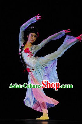 Stage Performance Classic Dance Costumes and Headwear for Women