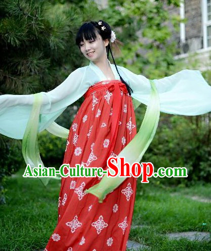 Traditional Chinese Tang Dynasty Birthday Celebration Ruqun Complete Set