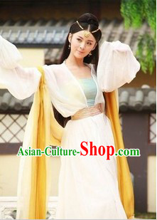 Ancient Chinese Lan Ling Wang King Empress Costumes for Women