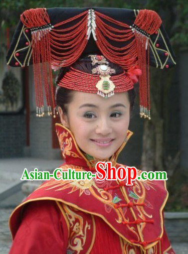 Ancient Chinese Wedding Hat for Brides