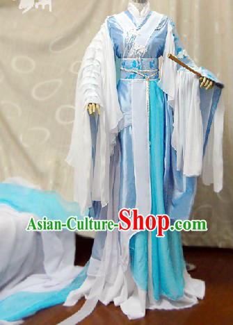 Ancient Chinese Prince Costumes Complete Set for Men