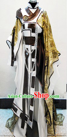 Ancient Chinese Magic Prince Cosplay Costume Complete Set for Men
