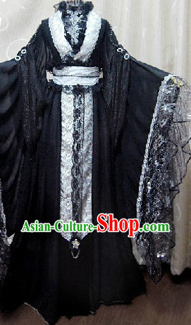 Ancient Chinese Prince Cosplay Wedding Dress Complete Set for Men