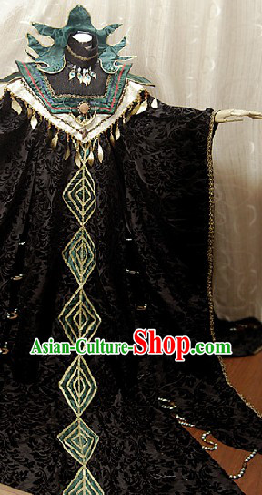 Ancient Chinese Emperor Cosplay Complete Set for Men