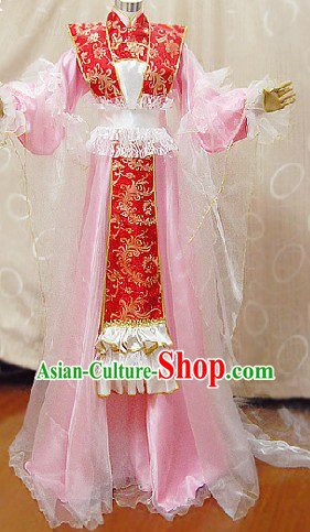 Ancient Chinese Imperial Palace Concubine Cosplay Suits Complete Set