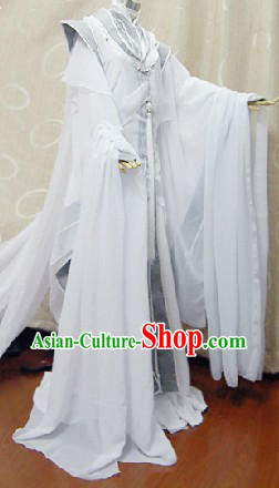 Ancient Chinese Angel Cosplay Complete Set for Men