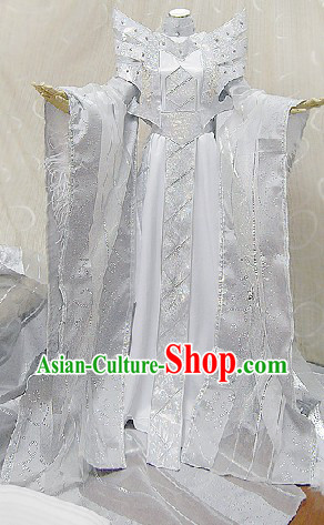 Ancient Chinese Imperial Palace Emperor Cosplay Dresses Complete Set