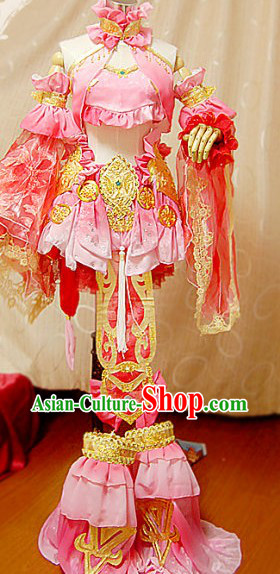 Ancient Chinese Empress Nv Huang Cosplay Complete Set for Women