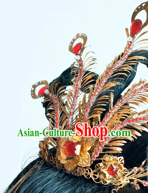 Ancient Chinese Wedding Tradition Phoenix Wedding Hair Accessories Complete Set