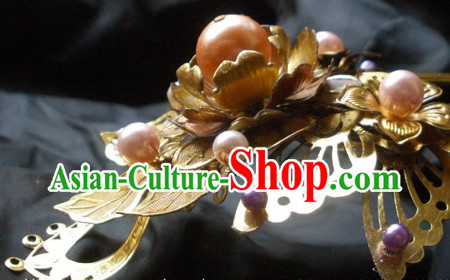 Ancient Chinese Handmade Butterfly Jewelry and Hair Accessory