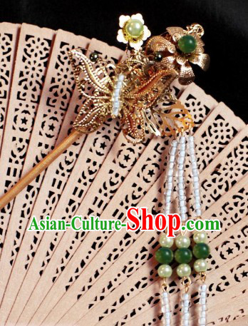 Ancient Chinese Handmade Butterfly Hair Clasp