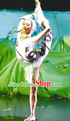 Silkworm Stage Performance Dance Costumes Suit for Womn