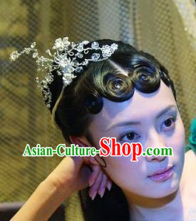 Ancient Chinese Fairy Flower Clasp Accessories