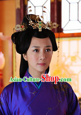 Ancient Chinese Lv Zhen Phoenix Hair Accessories Complete Set