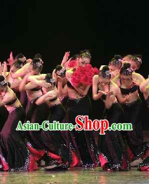 Dai Minority Group Dance Costumes for Competition