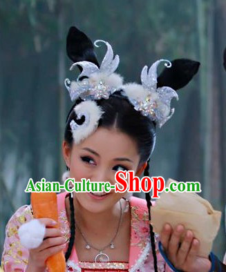 Movie and Television Play Hair Accessories and Props
