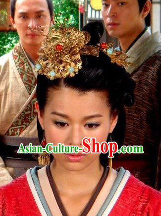 Movie and Television Play Headwears and Earrings