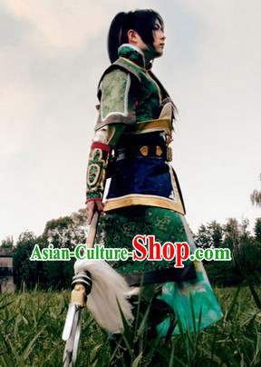Ancient Chinese Fencer Cosplay  Clothing, Shoes & Accessories for Men