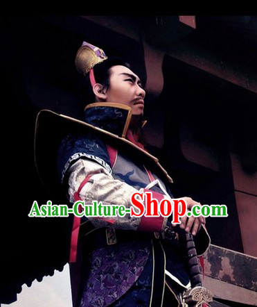 Hanmade Custom Made Cao Cao Three Kingdoms Costume Complete Set for Men