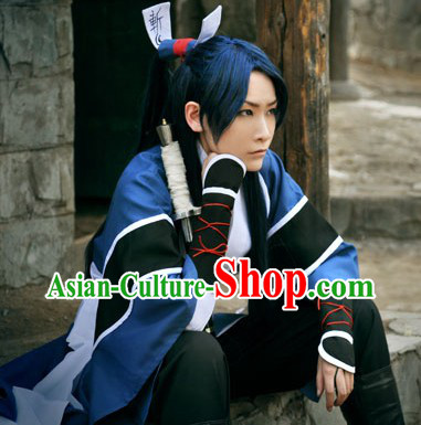 Classic Swordsman Costumes Complete Set for Men