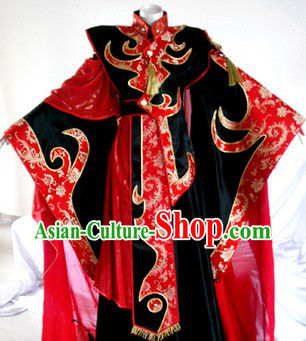 Worldwide Kung Fu Emperor Costume Complete Set