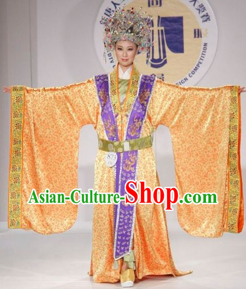 Ancient Chinese Empress Clothes Complete Set for Women