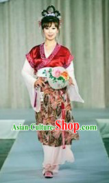 Ancient China Female Clothing Complete Set