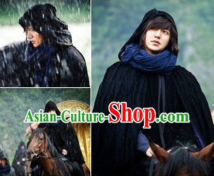 Ancient Korean Long Cape for Men