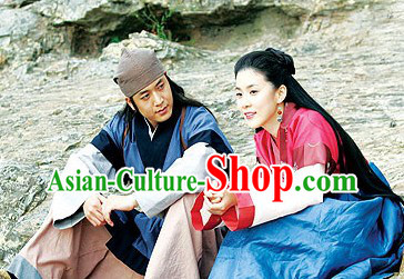 Ancient Korean Costumes Complete Sets for Men and Women