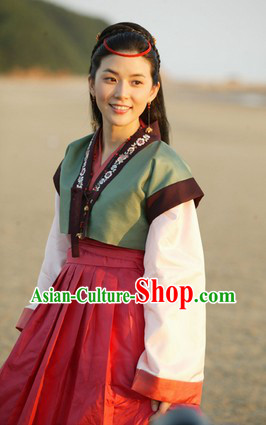 Ancient Korean Film Costume Complete Sets for Women