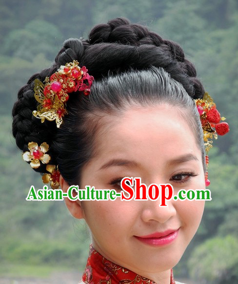 Chinese Wedding Hair Accessory
