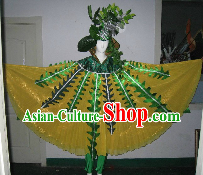 Traditional Chinese Tree Dance Costumes for Women
