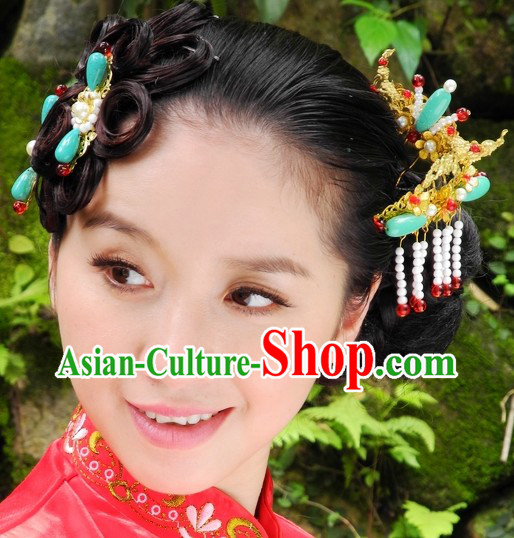Handmade Traditional Chinese Wedding Hair Accessories and Jewellery