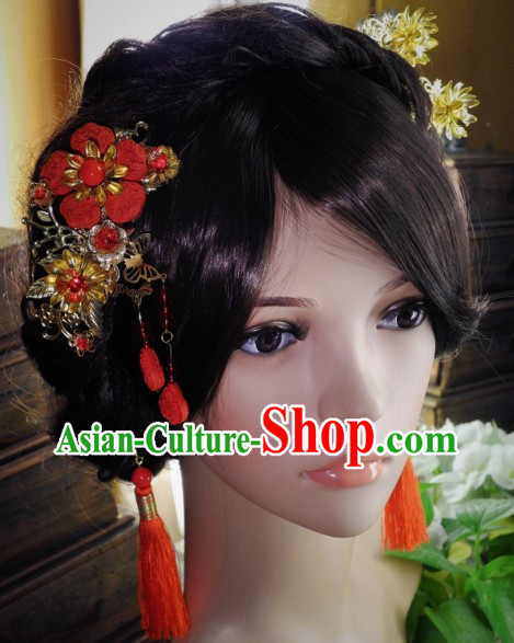 Handmade Traditional Chinese Hair Jewelry For Wedding