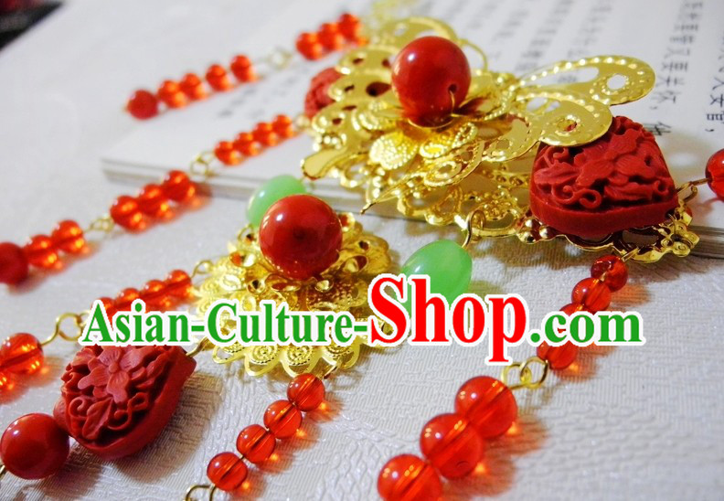 Traditional Chinese Bridal Jewelry Necklace
