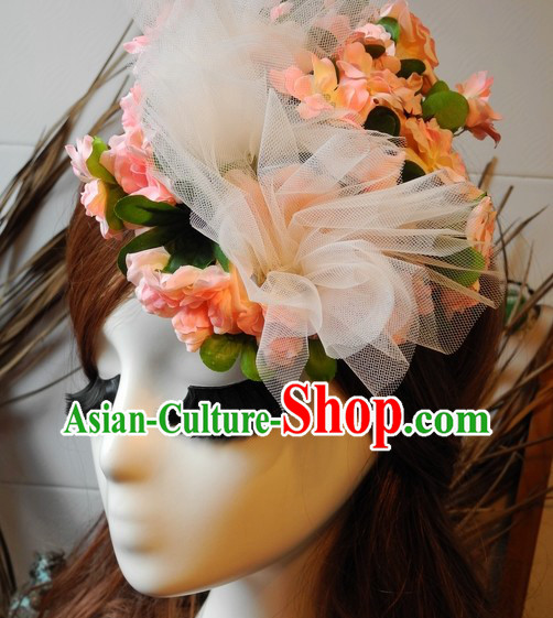 Traditional Chinese Handmade Flower Hair Accessories